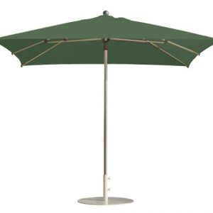 Parasol droit mendoza vert
