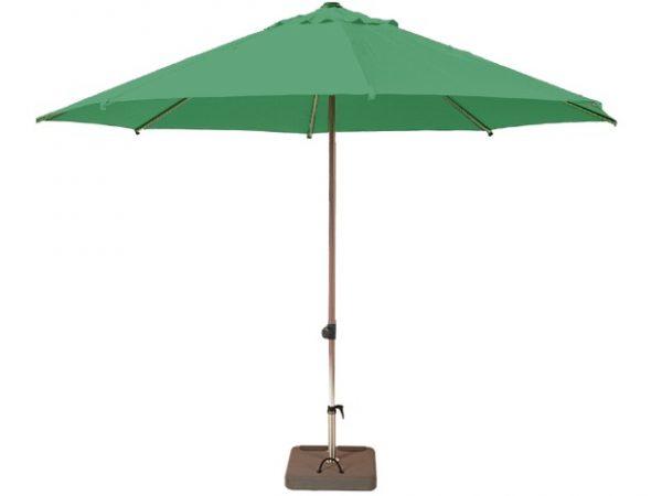 Parasol inclinable yuma vert